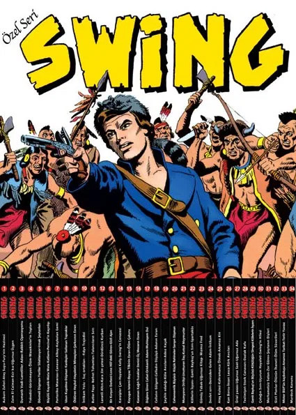 Kaptan Swing 35-81 Takım