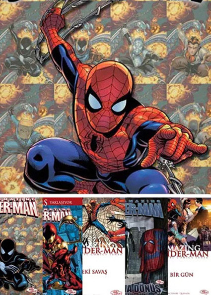 The Amazing Spiderman 1-6...