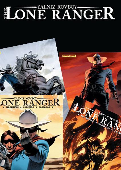Lone Ranger 1-5 takım