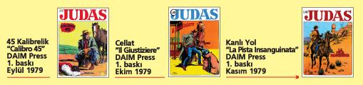 Judas 01, üç tam macera