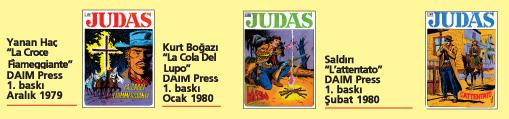 Judas 02, üç tam macera