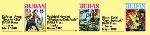 Judas 03, üç tam macera